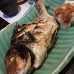 おまかせ - 鯛のお頭付