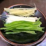 中国料理 龍亭 - 薬味3種
