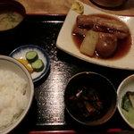 10395047 - 豚の角煮定食
