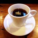 寿司鉄 - 寿司鉄 @平和台 ランチに付く食後のコーヒー ボケちゃってスンマソン