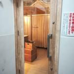 CABANA TERRACE - 店舗入り口ドア