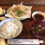 天婦羅みやざき - 料理写真:天婦羅定食
