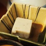 自然薯 茶茶 - とろろ御膳 山の香(自然薯豆腐)
