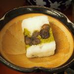 自然薯 茶茶 - とろろ御膳 山の香(自然薯菓子 天薯)