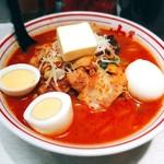 103956678 - 五目味噌タンメン+バター