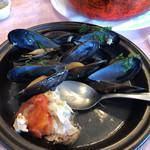 ル ビストロ - 鯛とムール貝。