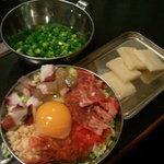 てまり - ネギ餅焼き