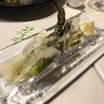 103962881 - アスパラガスのオーブン焼き 〜パルミジャーノ〜 888円