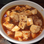栄太呂ラーメン - セットの麻婆丼