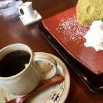 布穀薗 - コーヒー&抹茶シフォン   850円内税