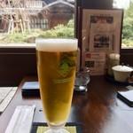 布穀薗 - ビール  450円内税