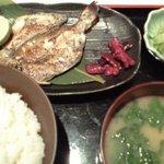 花てまり - 焼き魚定食(えぼ鯛開き)