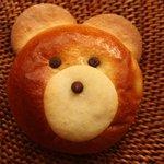 フラン ブラン - クマのかぼちゃパン