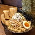 103970970 - 炒め野菜ちゃーしゅーめん(味噌)