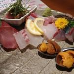丸秀鮮魚店 - お刺身盛り合わせ 二人前 恵比寿鯖も入ってます