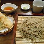 103975693 - 〆の蕎麦と天ぷら