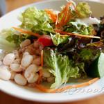 ラ フォルトゥーナ - 前菜のサラダ