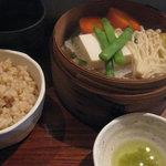 chinese cafe 茶林香 - ヘルシーせいろセット