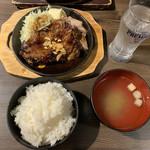 肉バル 東京グリルセンター - トンテキ定食880円