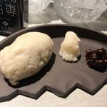 博多蕎麦酒場 蕎麦屋にぷらっと - 普通のそばがき