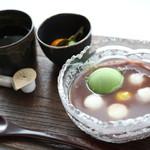 由布院 鞠智 - 【カフェ】夏季限定の冷たいぜんざい