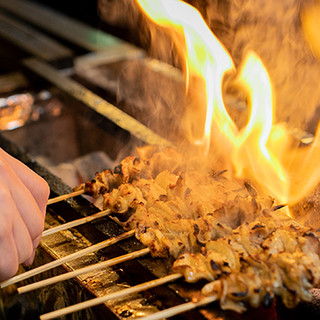★風味豊かな炭の香りとふっくら仕上がる炭火焼き♪