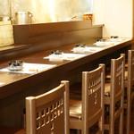しゃぶしゃぶと島豚料理 みなみ - 一人しゃぶしゃぶに最適なカウンター席