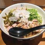 麺や 拓 - 料理写真:2019年3月 まぜめん肉まし太麺(950円)