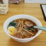ランチカフェ ビーンズ - 料理写真:ラーメン(540円)