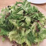 103989211 - 野生ルッコラとハーブのグリーンサラダ