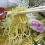 つけ麺 工藤 - 濃厚さんま干醤油ラーメン・麺