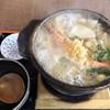田舎屋 - 料理写真:鍋焼きうどん1080円
