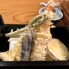 本陣房 - 料理写真:大海老天と真いかと野菜三種