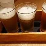 103991789 - ビール3種飲み比べ