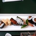 魚寅 - 葉山の渚 その3 お寿司