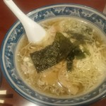 Gansojuuhachiban - シンプル過ぎた『ワンタン麺』