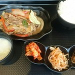 韓国料理HANA - プルコギ、ご飯おかわり無料です。