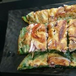 韓国料理HANA - プラス350円のチヂミです。