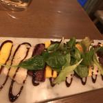 学芸大学前 肉寿司 - 馬刺しのカルパッチョ