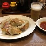 ぎょうざの店 黄楊 - ぎょうざ&ビール