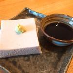 亀蔵 - 蕎麦豆腐