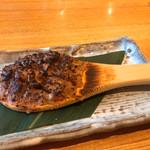 亀蔵 - 焼き蕎麦味噌