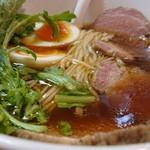 極汁美麺 umami - 「地鶏醤油」+「得製」