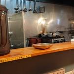 極汁美麺 umami - 厨房