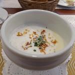 ビストロ ダイア - 新玉ねぎのスープ