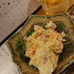 煮込みや みよし - ポテトサラダ(たべかけ