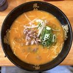 博多風龍 - 辛味噌とんこつラーメン(750円)