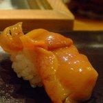 すし昂 - 握り 赤貝