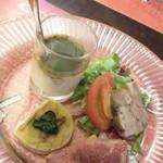 プチレストラン 雅司亭 - 料理写真:前菜