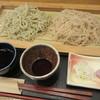 手打ち蕎麦 ゆうり庵 - 料理写真:「桜きり・おせいろ 合い盛り  ¥750」